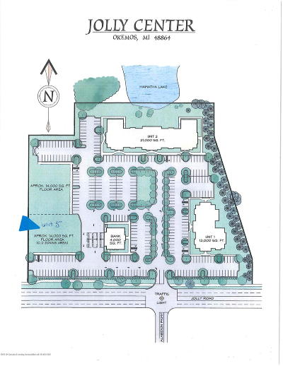 Okemos Residential Lots & Land For Sale: 2020 Jolly Road