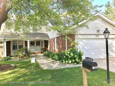 East Lansing Condo/Townhouse For Sale: 1305 Glenmeadow Lane