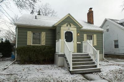 Lansing Single Family Home For Sale: 529 E Greenlawn Avenue