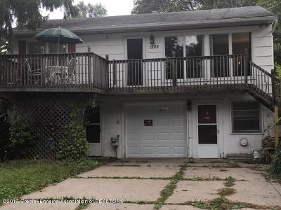East Lansing Single Family Home For Sale: 1222 Oak Ridge Avenue