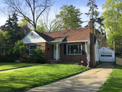 East Lansing Single Family Home Active Backup: 836 Huntington Road