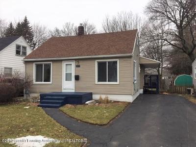 Lansing Single Family Home For Sale: 527 E Cavanaugh Road