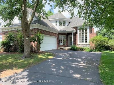 East Lansing Condo/Townhouse For Sale: 218 Abbott Woods Drive