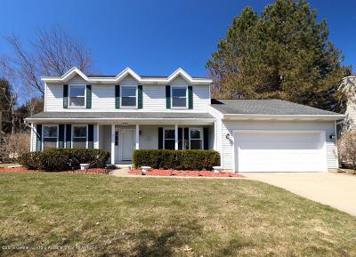 Haslett Single Family Home For Sale: 5753 Whisperwood Drive