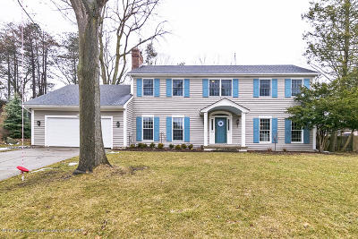Okemos Single Family Home For Sale: 2038 Woodfield Road