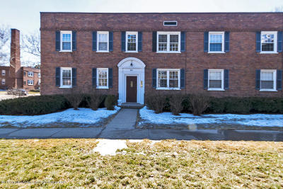 East Lansing Condo/Townhouse For Sale: 605 Glenmoor Road 2a