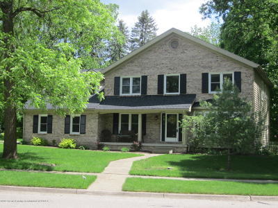 Okemos Single Family Home For Sale: 3940 Hemmingway Drive