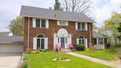East Lansing Single Family Home For Sale: 404 Clifton Boulevard