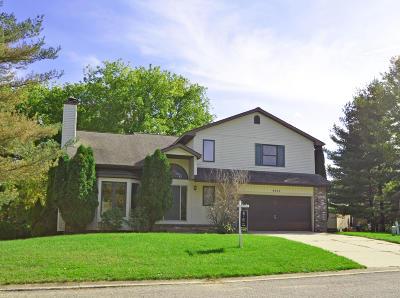 Okemos Single Family Home For Sale: 4243 Hidden Meadows Court
