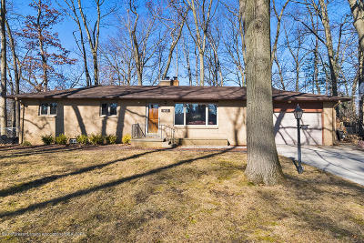 East Lansing Single Family Home For Sale: 1603 Columbine Drive