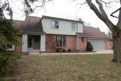 East Lansing Single Family Home For Sale: 1780 Wyngarden Lane