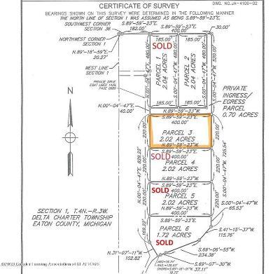 Lansing Residential Lots & Land For Sale: Lot 3 Trillium Drive