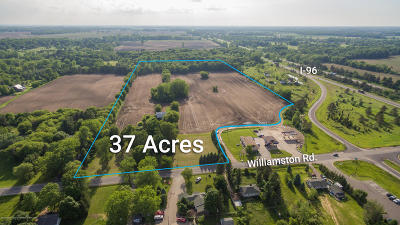 Williamston Residential Lots & Land For Sale: 2605 N Williamston Road