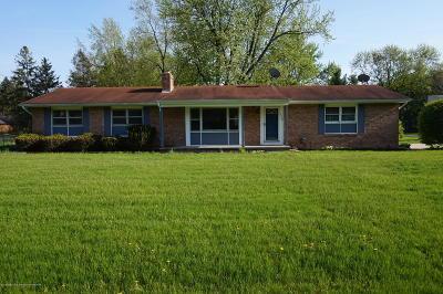 Okemos Single Family Home For Sale: 1529 Birchwood