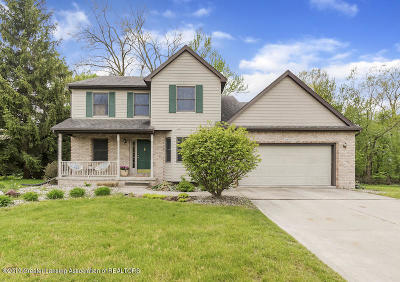 East Lansing Single Family Home For Sale: 2151 Quarry Road