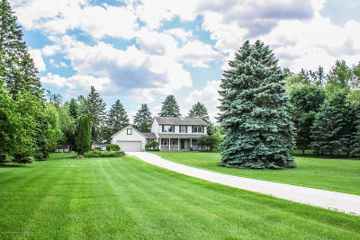 Grand Ledge Single Family Home For Sale: 9503 Clark Road