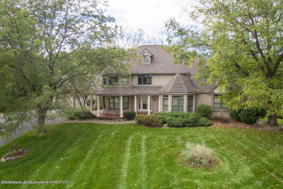 Okemos Single Family Home For Sale: 200 Victorian Hills Drive