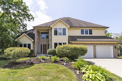 Okemos Single Family Home For Sale: 3635 Fairhills