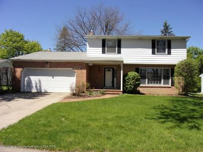 East Lansing Single Family Home For Sale: 1433 Roxburgh Avenue