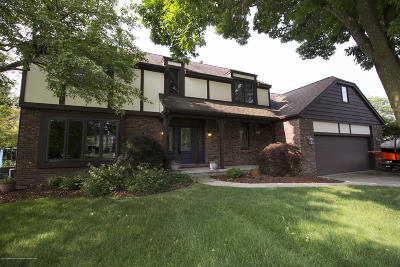 Okemos Single Family Home For Sale: 1291 Leeward Drive