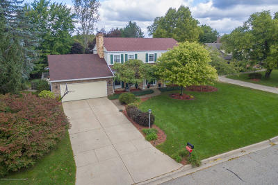 Okemos Single Family Home For Sale: 3901 Highwood Place