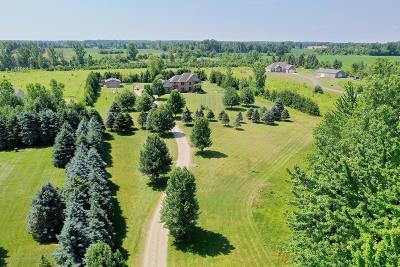 Grand Ledge Single Family Home For Sale: 2858 E St. Joseph Highway