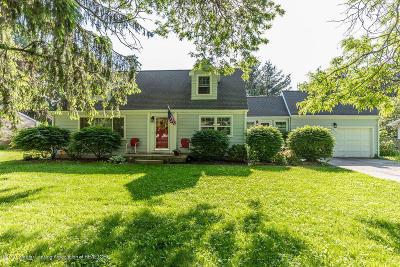 Okemos Single Family Home For Sale: 3572 W Hiawatha Drive