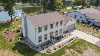 Laingsburg Single Family Home For Sale: 10191 S Bay Drive