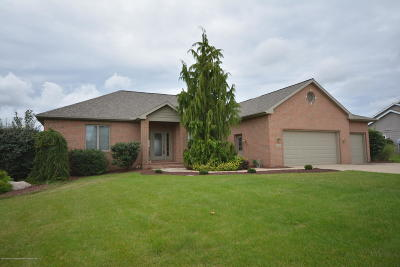 Dewitt MI Single Family Home For Sale: $417,500