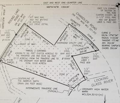 Dewitt Residential Lots & Land For Sale: Round Lake/Chandler Road
