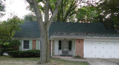 East Lansing Single Family Home For Sale: 1019 Abbot Road
