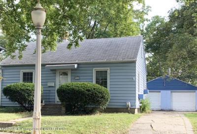 Lansing Single Family Home For Sale: 1116 Walsh Street