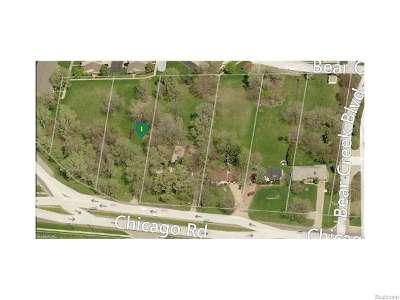 Warren Residential Lots & Land For Sale: Chicago Rd