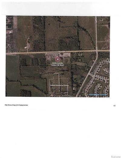 Wayne Residential Lots & Land For Sale: 50145 Ford Rd