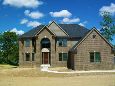 Lake Orion Single Family Home For Sale: 211 Fairway View Crt