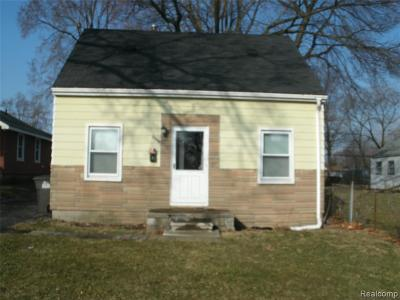 Taylor Single Family Home For Sale: 6160 McGuire St