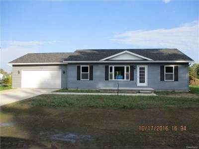Burtchville Single Family Home For Sale: 7034 4th St