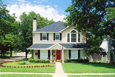 Auburn Hills Single Family Home For Sale: 388 N Lake Angelus Rd