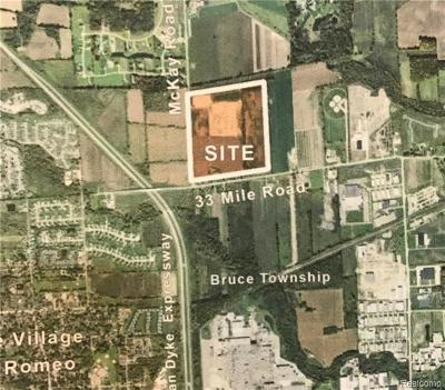 Macomb Residential Lots & Land For Sale: 13743 33 Mile Rd