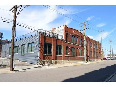 Detroit Condo/Townhouse For Sale: 2987 Franklin St
