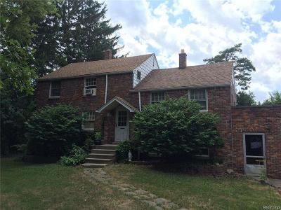 Warren Single Family Home For Sale: 28179 Ryan Rd