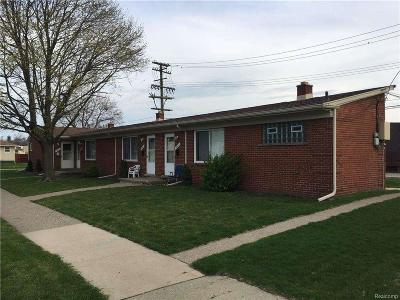 Lincoln Park Multi Family Home For Sale: 1610 Lejeune Ave