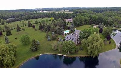 Lapeer Single Family Home For Sale: 4721 Hasslick Rd