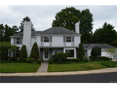 Grosse Pointe Farms Single Family Home Sold: 21 Beacon Hill Rd