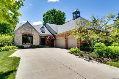 Clarkston Condo/Townhouse For Sale: 4628 Oakhurst Ridge Rd
