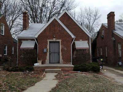 Detroit Single Family Home For Sale: 15758 Coyle St