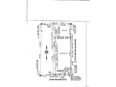 Ray, Ray Twp Residential Lots & Land For Sale: 26 Mile Road