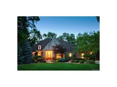 Lapeer Single Family Home For Sale: 5893 Saratoga