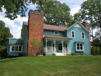 Lapeer Single Family Home For Sale: 3725 Wilder Rd