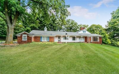 Farmington Hills Single Family Home For Sale: 35690 Knight